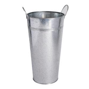 Silver Metal Buckets